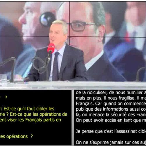 Radio France : Questions politiques